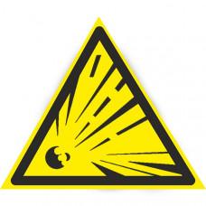 W02 Взрывоопасно (на плёнке)