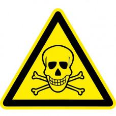 W03 Опасно. Ядовитые вещества (на плёнке)