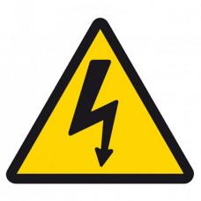 W08 Опасность поражения электрическим током (на плёнке)